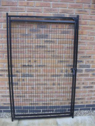 Easy Run System - Mesh 1m Dog Run Panel with Door
